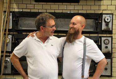 Die Bäckermeister Reinhard und Matthias Distler